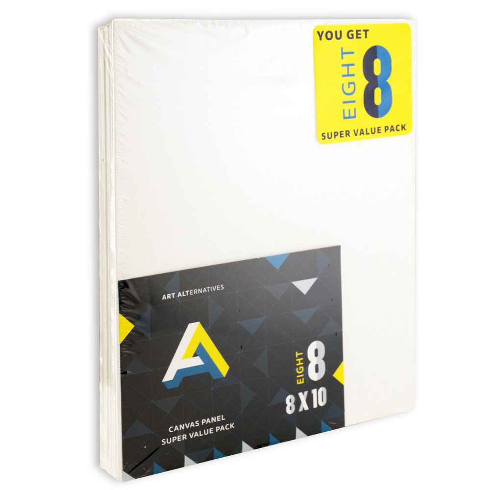 Aa Super Value Canvas Panel 8X10 Pack Of 8