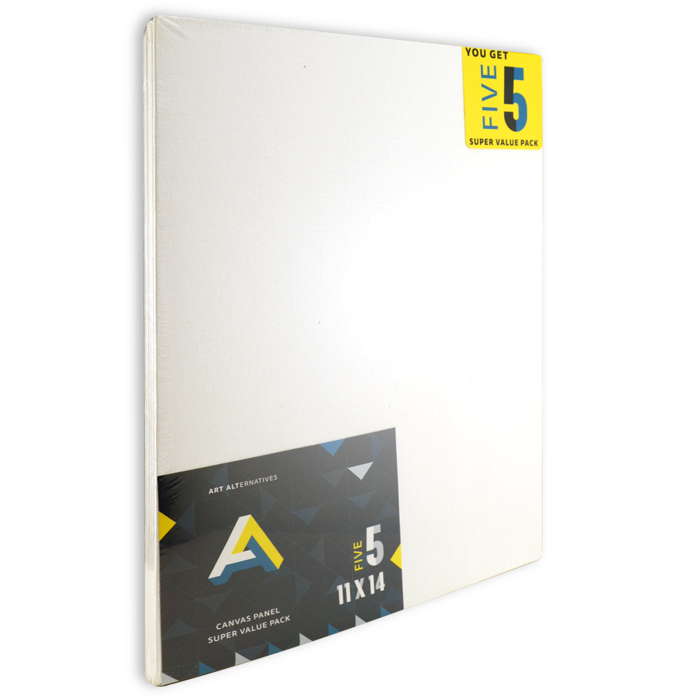 Aa Super Value Canvas Panel 11X14 Pack Of 5