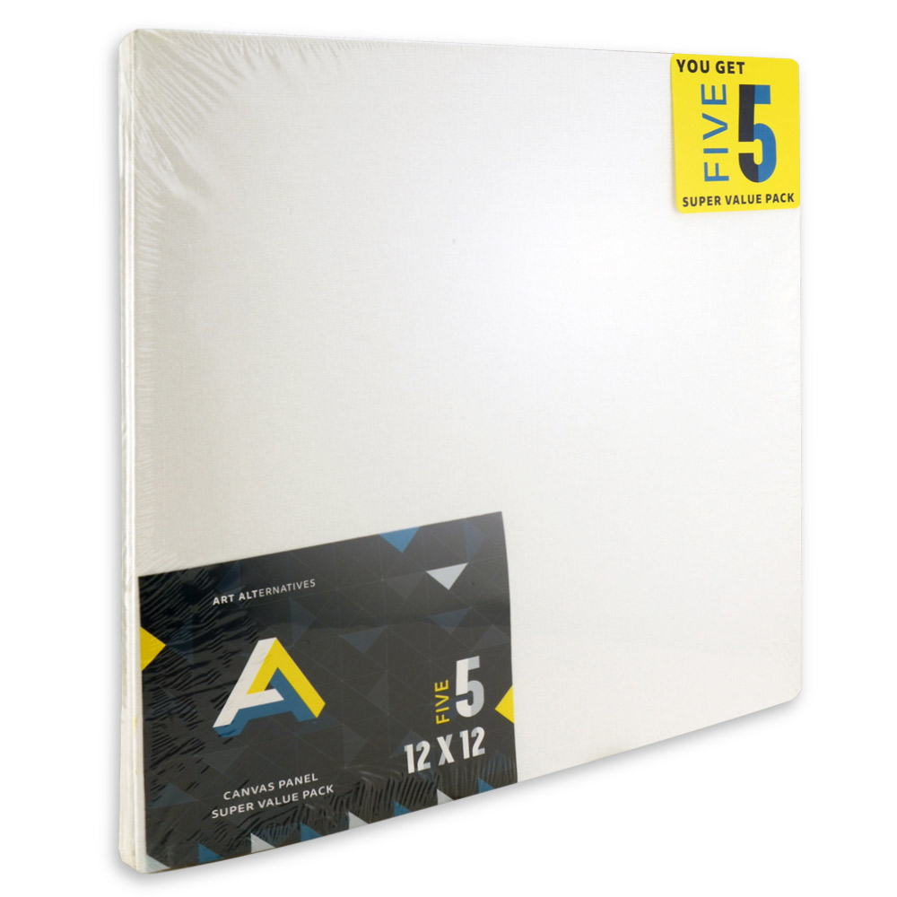 Aa Super Value Canvas Panel 12X12 Pack Of 5