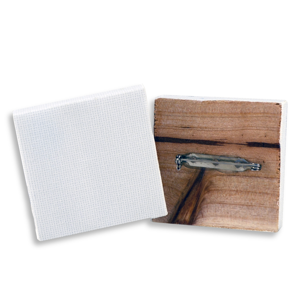 Mini Stretched Canvas Pin 2X2 Inch 2/Pk