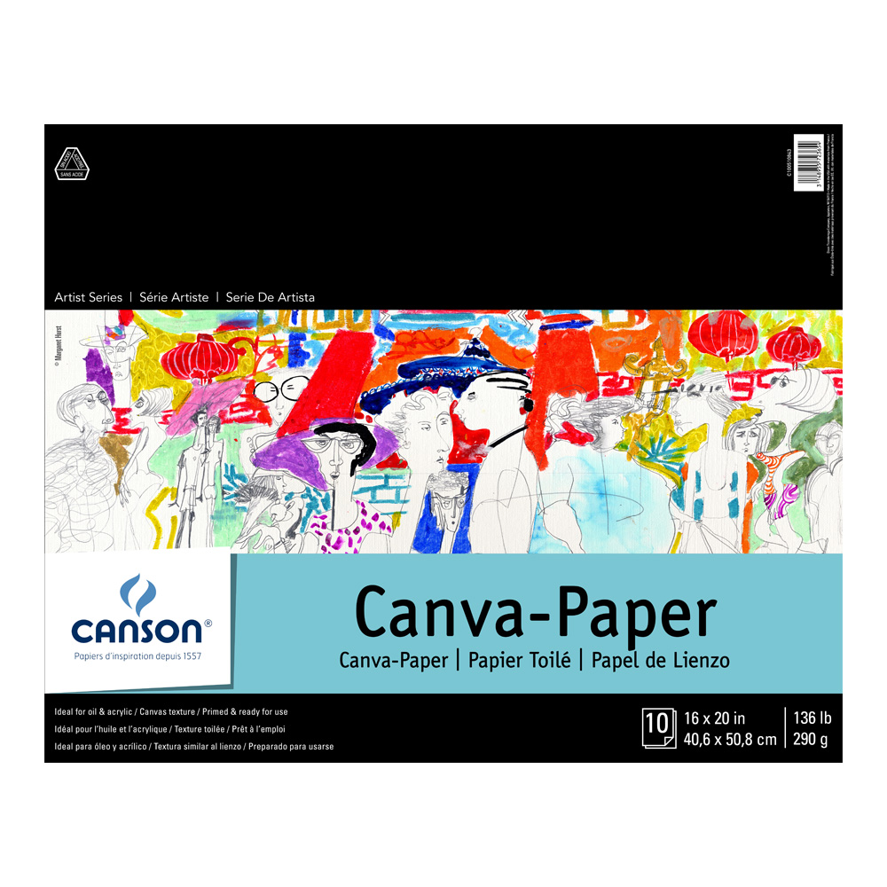 Canson Foundation Canva-Paper Pad 16X20