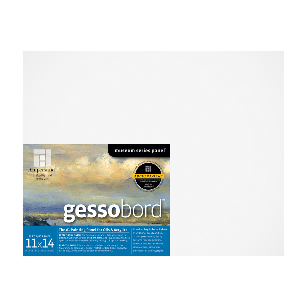 Ampersand Gessobord 1/8 Inch 5X7 Pk/3