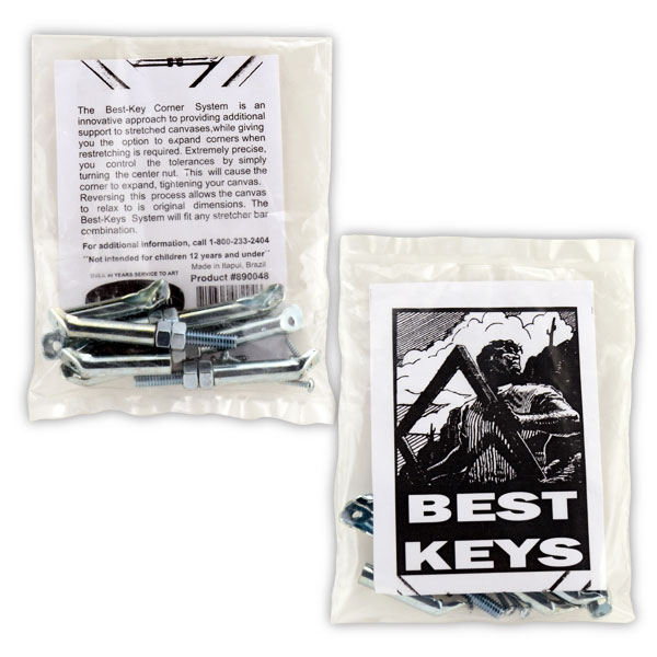 Best Key Corner System - 1 Set Of 4 Keys