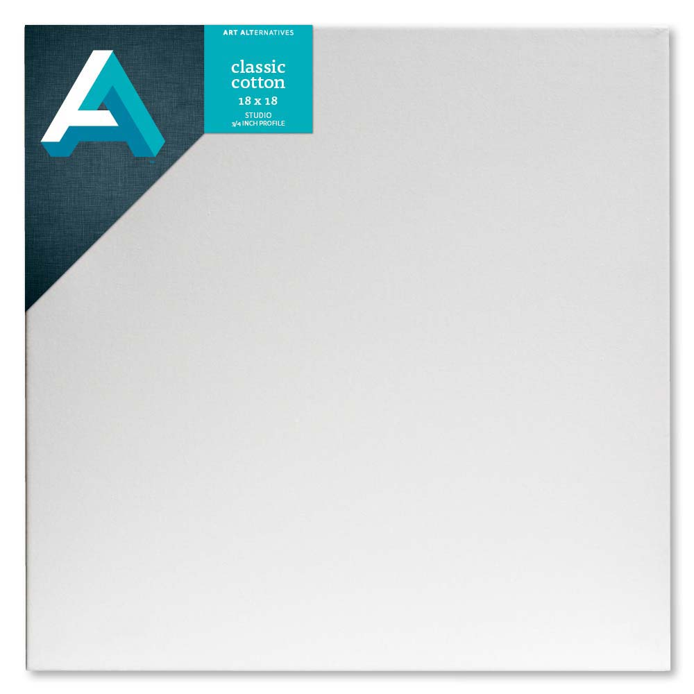 Aa Studio Stretched Canvas Case/10 18X18