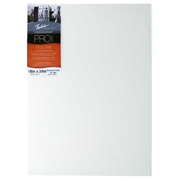 Fredrix Pro Stretched Canvas Standard 18X24