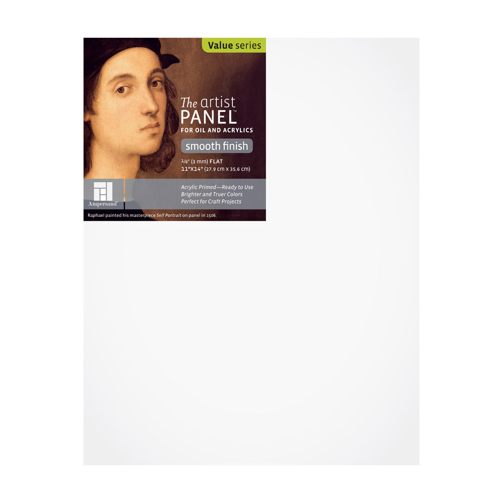 Artist Panel Primed Smooth 1/8 Inch 11X14
