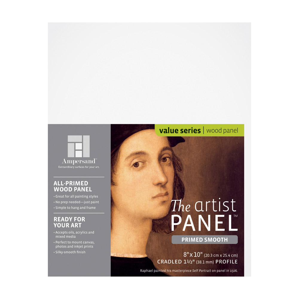 Artist Panel Primed Smooth 1.5 Inch 8X10