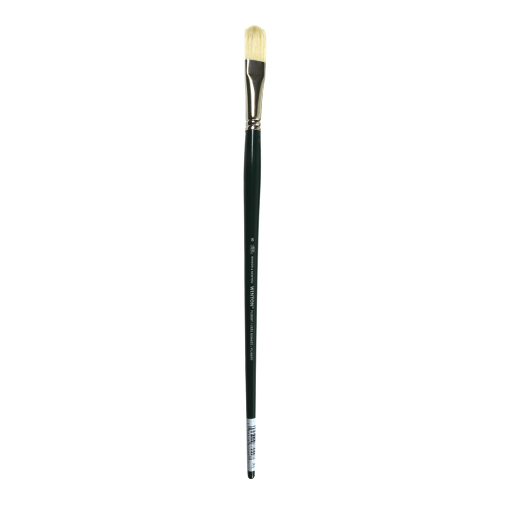 Winton Brush Natural Bristle Filbert 8