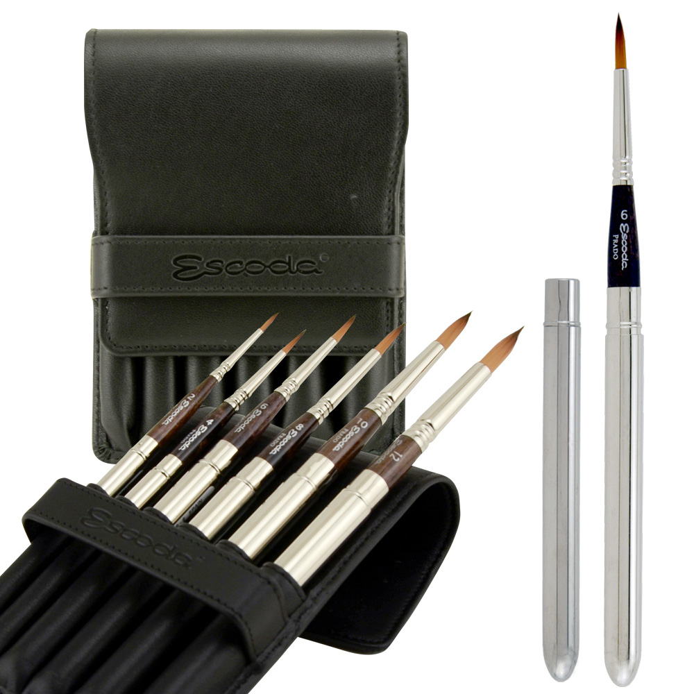 Escoda 1468 Travel Brush Set Of 6