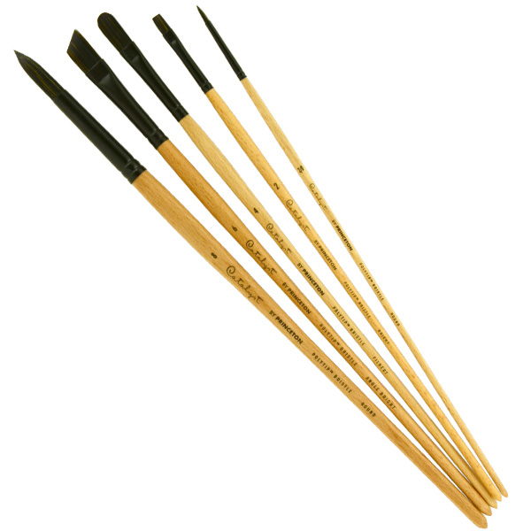 Pab Catalyst Polytip Brush Set 6403 5-Pc Set