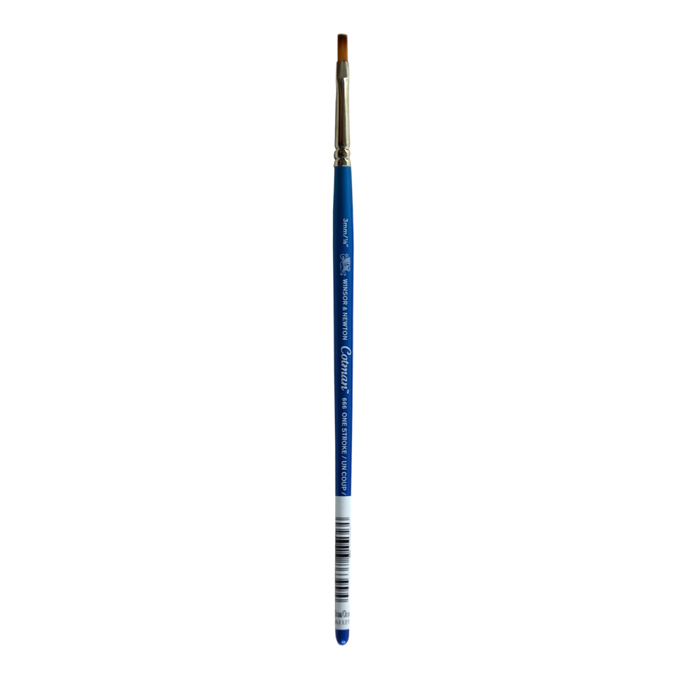 W&N Cotman Synthetic Sable 666 One-Stroke Brush