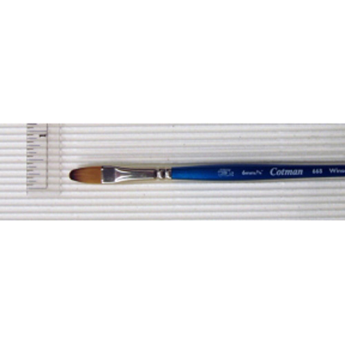 Cotman Brush Synthetic Sable 668 Filbert 1/4