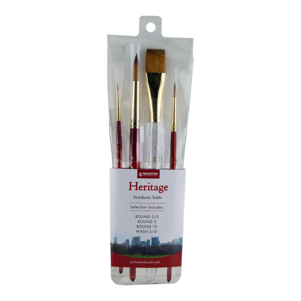 Princeton Heritage 4050 Series Brushes