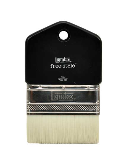 Liquitex Freestyle Brush Paddle 3 Inch