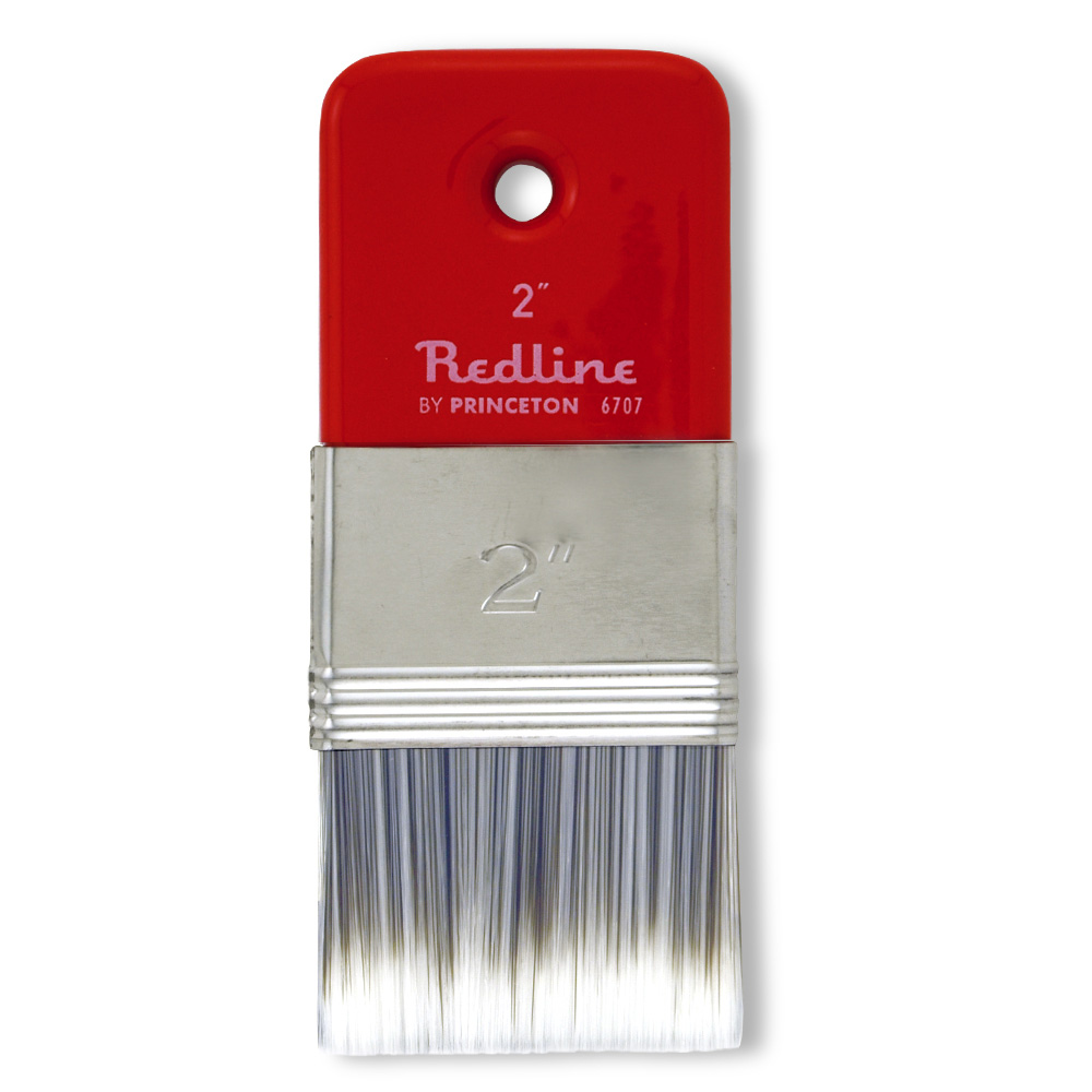 Pab Redline Flat Paddle Brush 2In