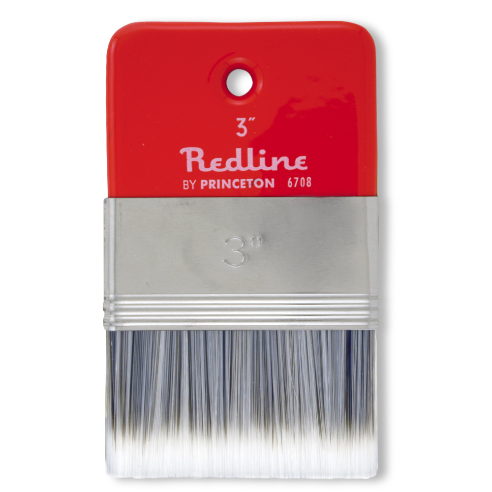 Pab Redline Flat Paddle Brush 3In