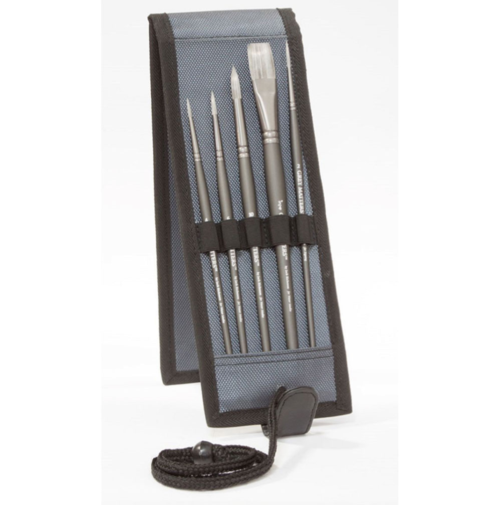Richeson Gray Matters Water Media Brush Set