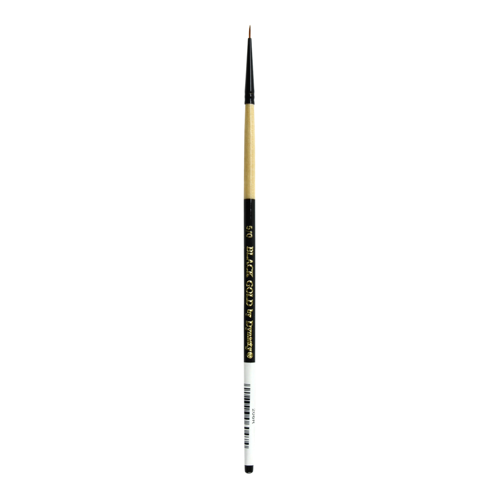 Black Gold Synthetic Sable 206R Round 5/0