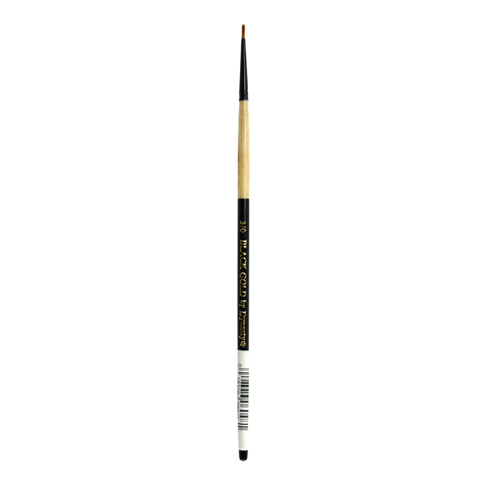 Black Gold Synthetic Sable 206R Round 3/0