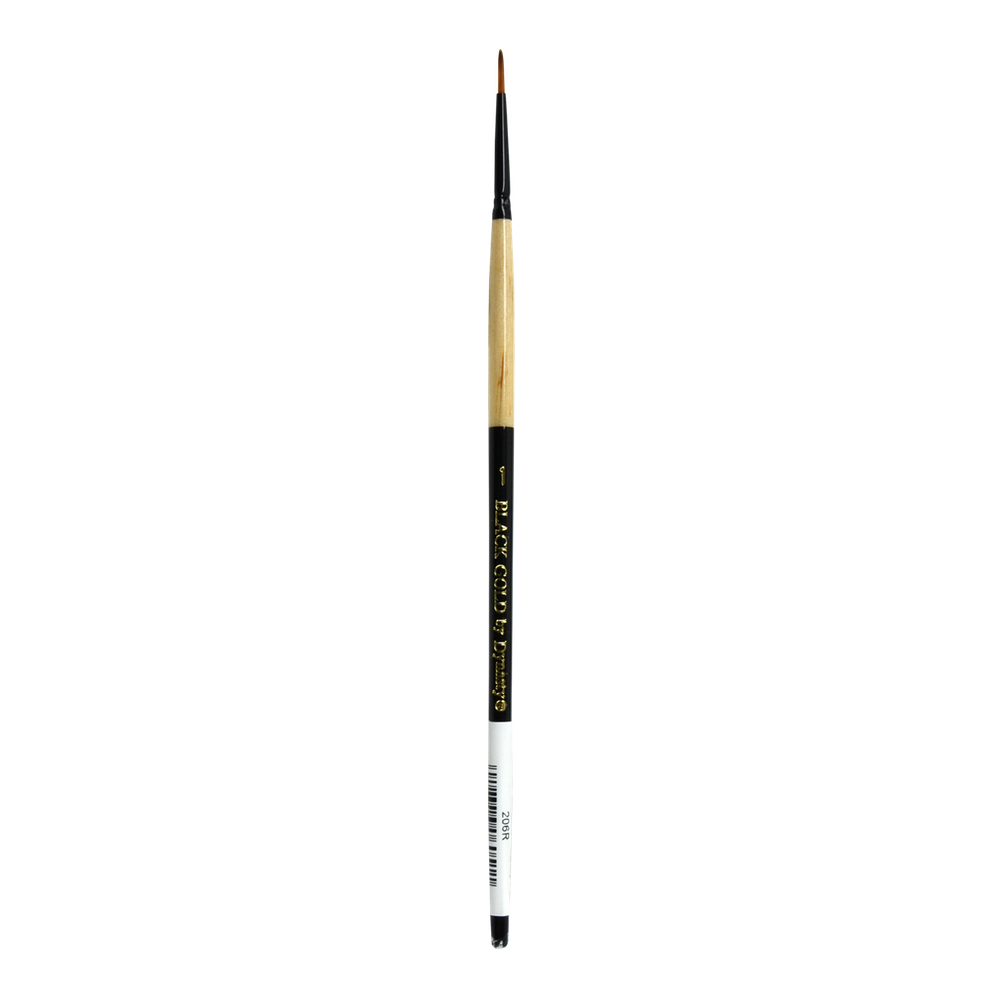 Black Gold Synthetic Sable 206R Round 1
