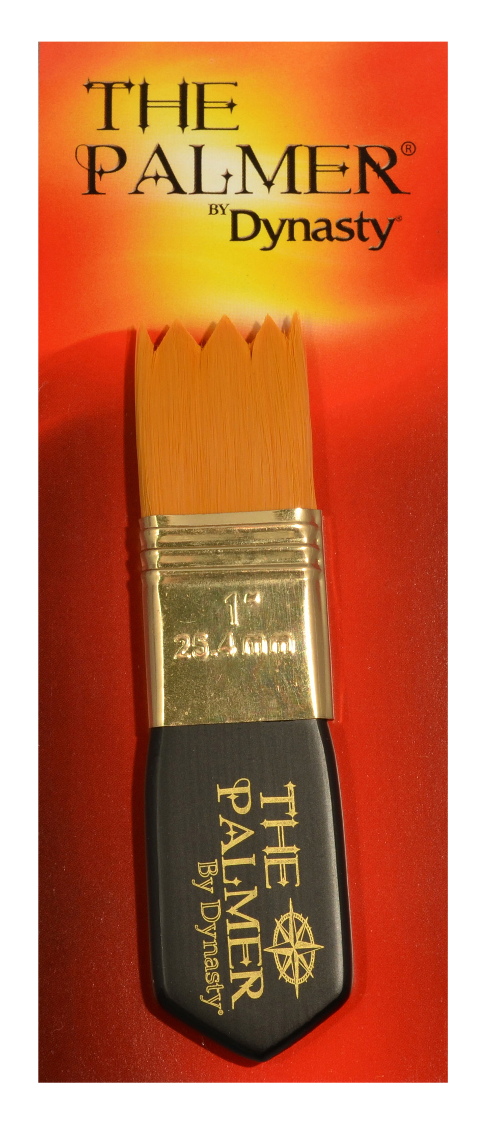 Dynasty Palmer Brush Synthetic 1Inch Wave