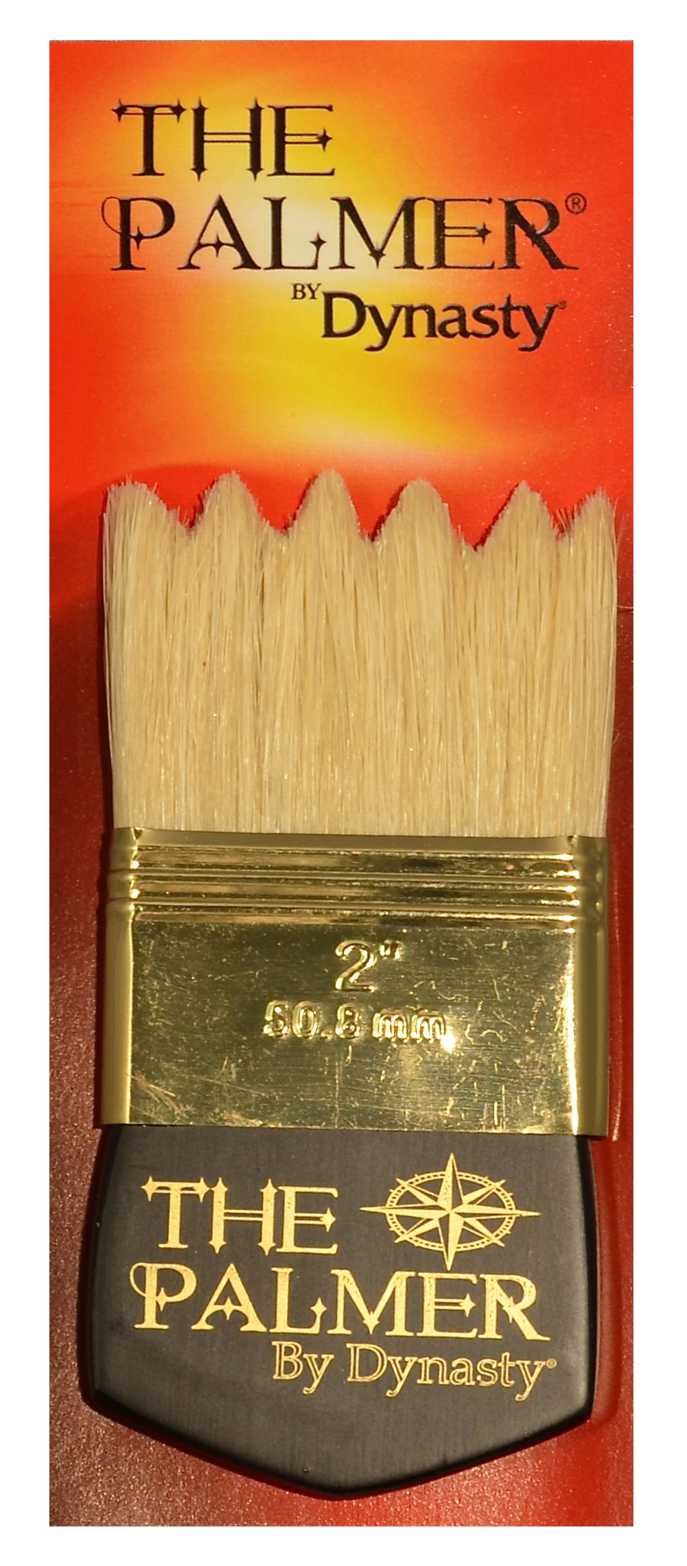 Dynasty Palmer Brush White Bristle 2In Wave