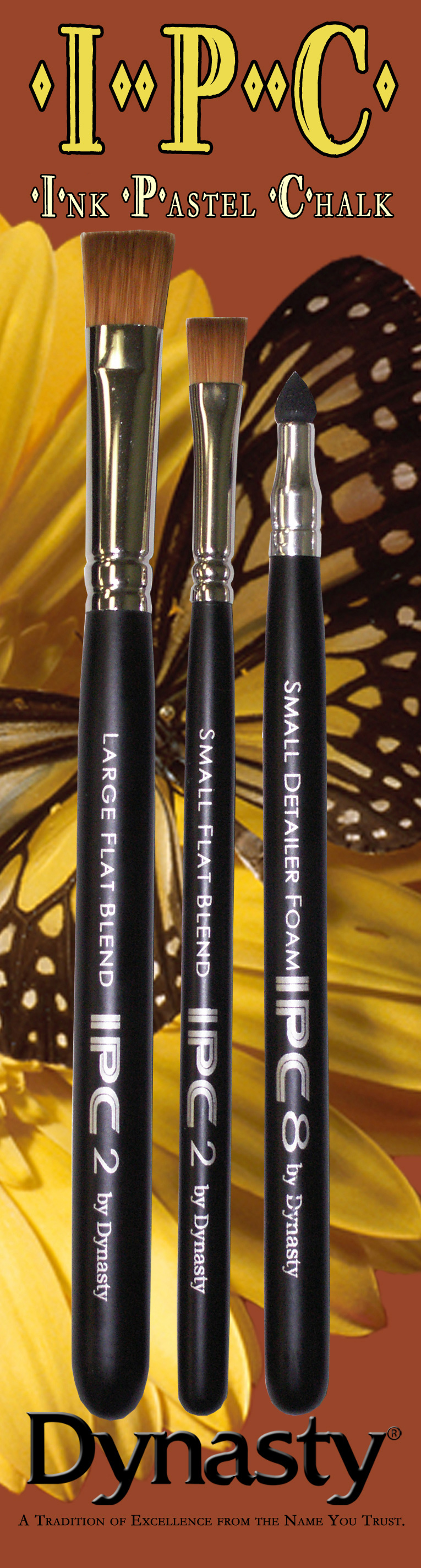 Dynasty Ipc Brush Set B- Blenders/Detail