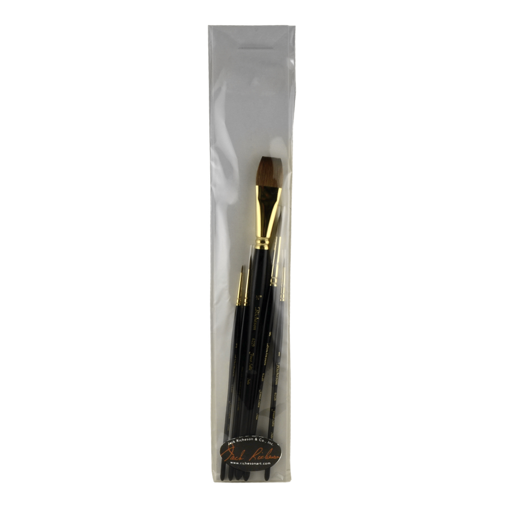 Richeson Sable Hair Watercolor Brush Set/5