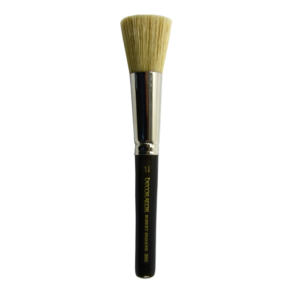 Simmons Stencil Brush 960 Size 1-1/4