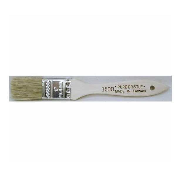 Chip Brush White Bristle 3Inch