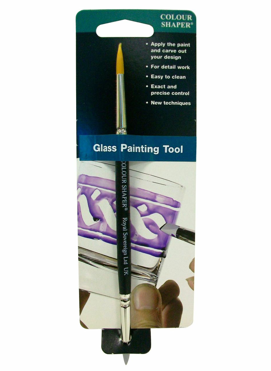 Colour Shaper Double-End Glass Paint Tool #2