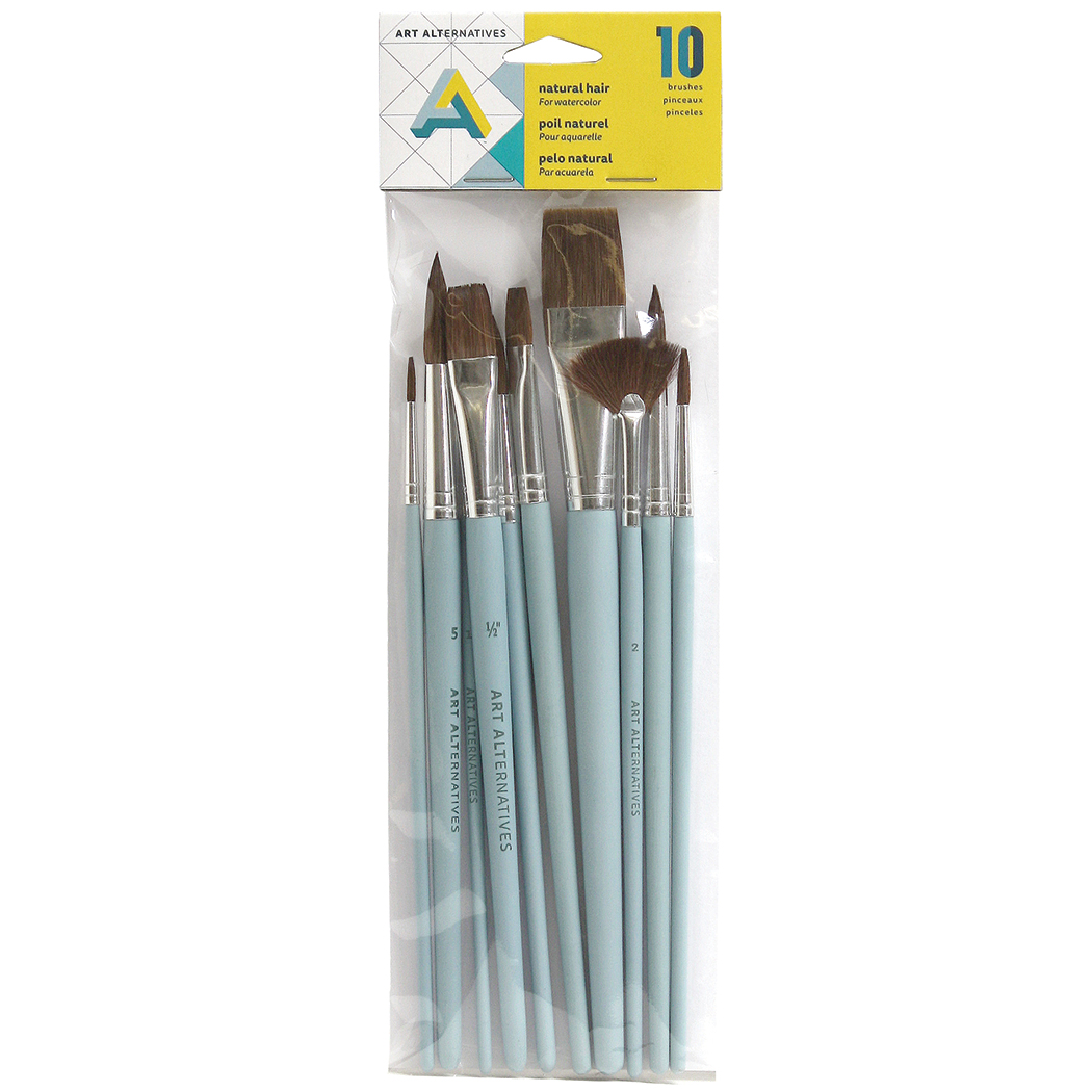 Aa Watercolor Brush 10 Set