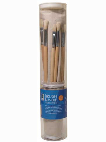 Brush Bundle Value Pack With Holder
