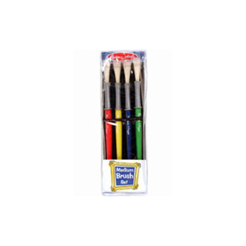 Kid Dynasty Stubby Brush Set Of 6 Flat