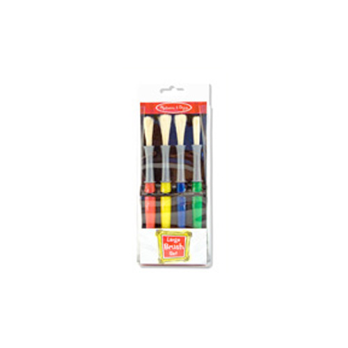 Kid Dynasty Stubby Brush Set Of 10 Flat