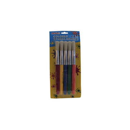 Stubby Brushes Set Of 5