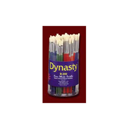 Dynasty Fine White Bristle Assorted Brushes