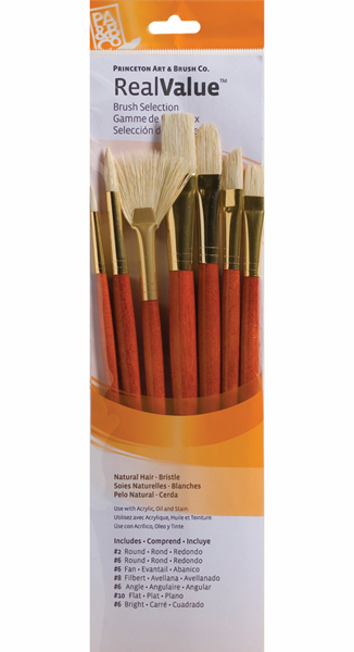 Princeton Brush Set 9154 7-Pc Lh Ntrl Bristle