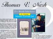 Thomas Nash 24 Pc Portrait Deluxe Set