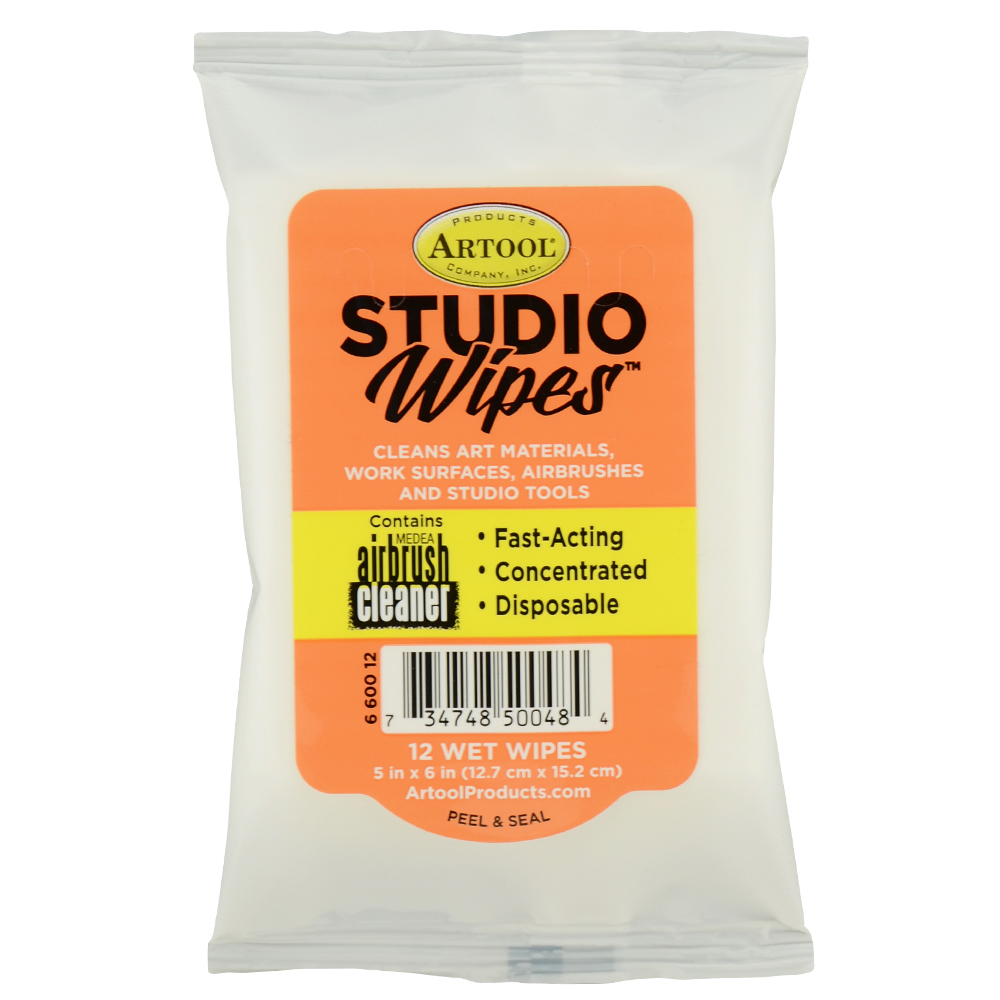 Artool Studio Wipes 12Ct