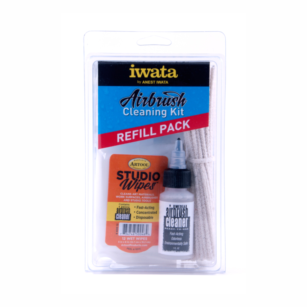 Iwata Airbrush Cleaning Kit Refill Pack