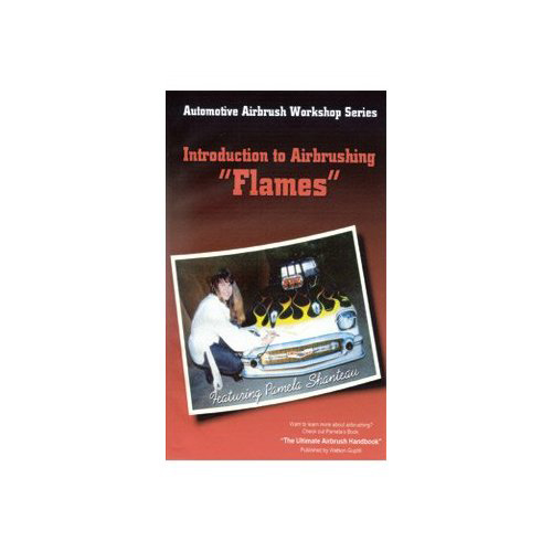 Dvd: Intro To Airbrushing Flames /P. Shanteau