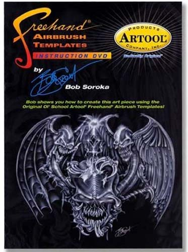 Dvd: Artool Freehand Airbrush By Bob Soroka