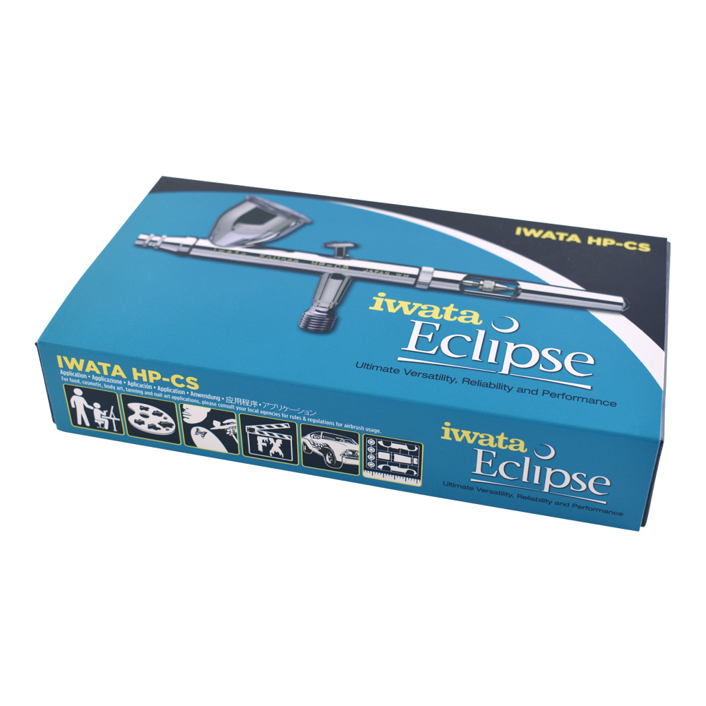 Iwata Eclipse Airbrush Hp-Cs Lrg.gravity Feed