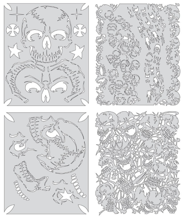 Artool Template Fhsk20 Return/Skulmstr Set