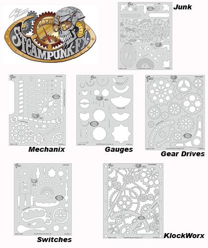 buy artool template fhspfx7 steampunk fx set