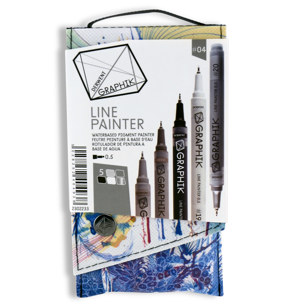Graphik Line Painter Set Palette #04