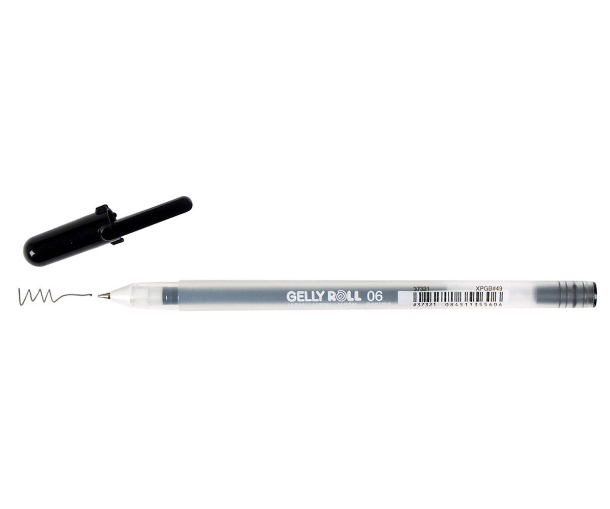 Gelly Roll Pen Fine Black