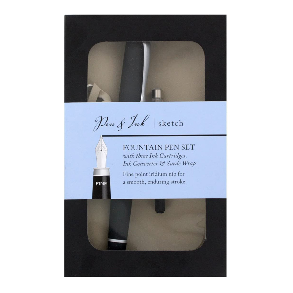 Pen & Ink Sketch Fountain Pen Set Fine