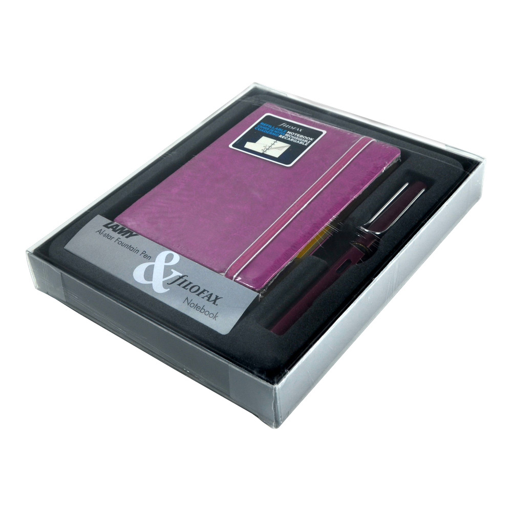 Lamy Alstar Noteletts Gift Set Purple